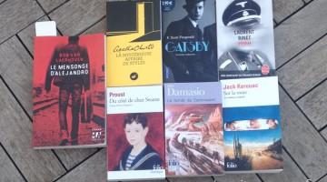 Mes livres en vacances