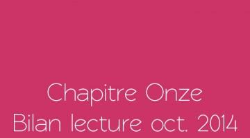 Bilan lecture d'octobre 2014