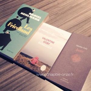 Les nouveaux livres dans ma PAL de février