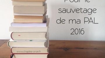sauvetage de ma pile à lire2016